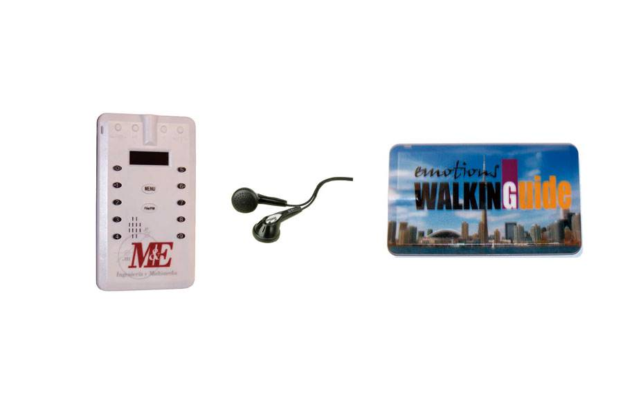 Audioguia Credit Card Size