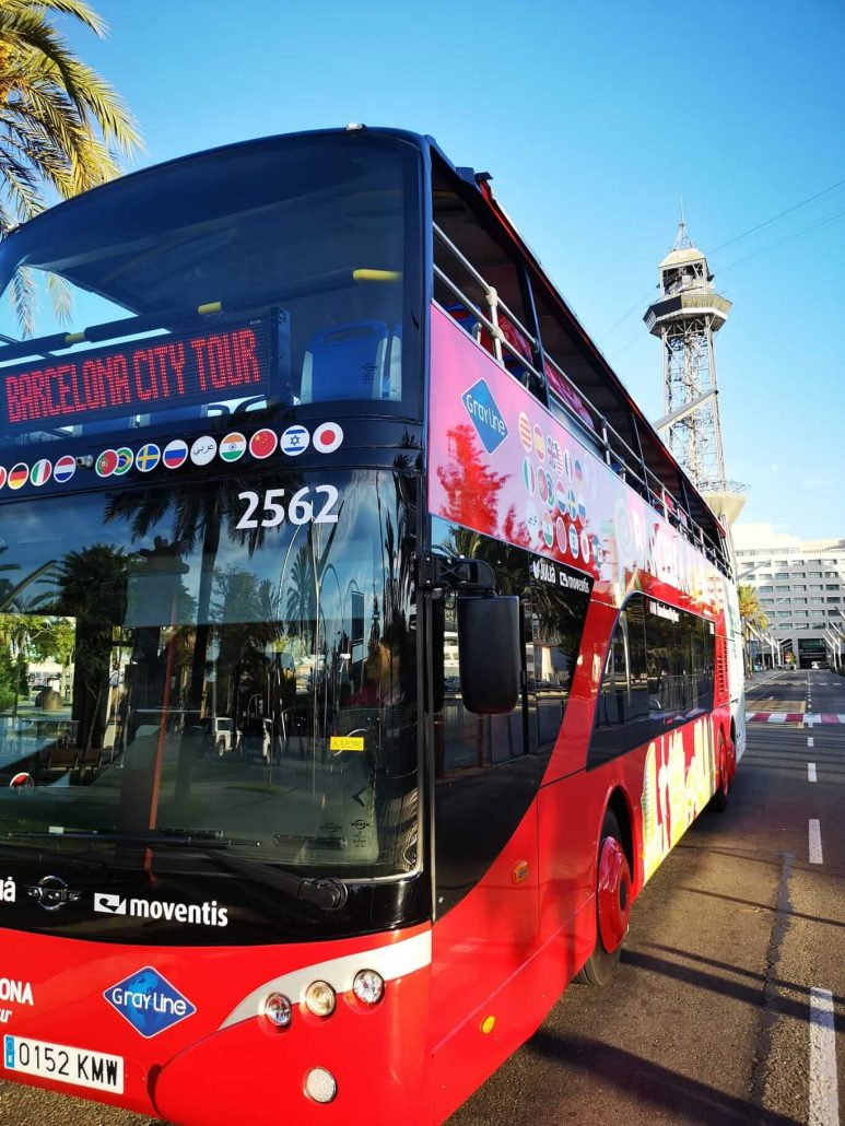 Audioguias bus turístico Barcelona