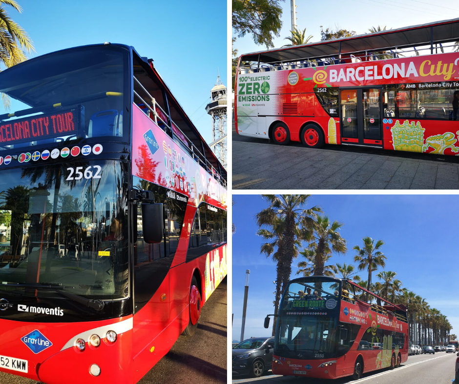 Barcelona City Tour Electric bus
